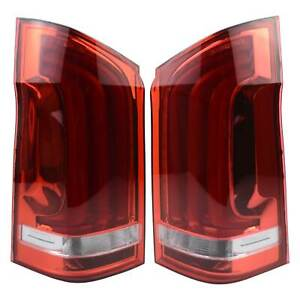 Rear LED Tail Lamps Pair New A4478200664 for Mercedes-Benz Vito Box W447 2014-20