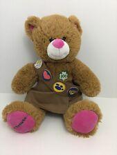 Build a Bear Girl Scout Plush Bear 100 Year  00004000 Bear Brownie Sash Skort