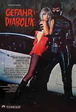 DANGER: DIABOLIK Movie POSTER 11x17 German John Phillip Law Marisa Mell Michel