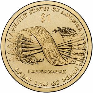 2010 D Native American Dollar