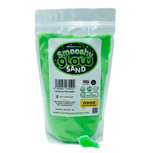 Glow in the Dark Smooshy Sand Eco Magic Sand, Kinetic Play Sand - 300g to 2.5kg