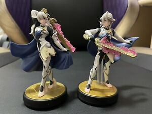 Lot of Corrin Player 1 And Player 2 Amiibo Nintendo Super Smash Bros Fire Emblem