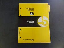 John Deere 1000 and 1400 Portable Generators Technical Manual  TM1382