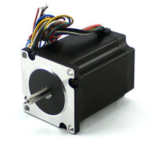 "NEMA23 495 oz/in Stepper Motor KL23H2100-30-4BM (1/4""Dual shaft with a flat)"