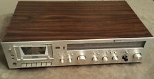 Silver Face Wood Grain Samsung ST-3277 AM/FM Stereo Receiver Amp w/ Tape Player