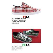 Fila Original Canvas Men's Plaid Casual Shoes: 1VB045EC-301: 100% Authentic.