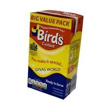 Birds Custard Original Homemade Taste Ready To Serve 1Kg Carton Exp 12/2021 NEW