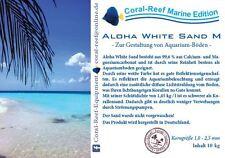 ALOHA WHITE SAND Weißer Aquariensand für Meerwasser 10 kg nur 17,50 €