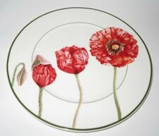 """Villeroy & Boch FLORA POPPY POPPIES Service or Chop Plate or Charger, 12 1/4"""""""