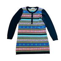 Miss Portscom Inspiration Italy Wool Blend Knit Dress Women's Fit Size Medium