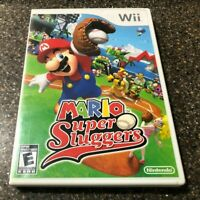 Mario Super Sluggers (Nintendo Wii Game) Complete with Manual - Free Ship