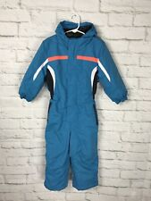 ICEBURG Toddler Blue Snowsuit Size 3T