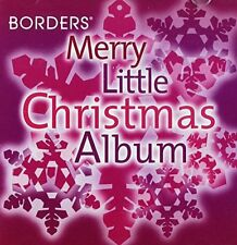 Borders Merry Little Christmas Album CD Various Artists (2006) NEW