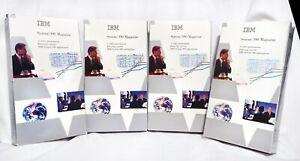 *Rare* IBM System/390 S/390 Video Magazine Volume 4 1995-96 - Set of 4 VHS Tapes