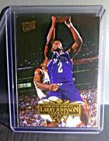 1995-96 Larry Johnson Fleer Ultra #21 Basketball Card