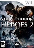 Medal of Honor Heroes 2 jeu Nintendo Wii Occasion Version française PAL FR
