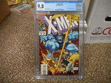 X-Men 34 cgc 9.8 Marvel 1994 Gambit and Beast cover NM MINT WHITE pgs wolverine