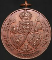 Police Athletic Association Championship 'Long Jump 1931' Medal   KM Coins