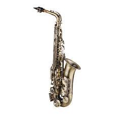 Alt Saxophon Eb Sax Kupfer Saxophone Altsaxophon mit Koffer Pflege Kit O0K6