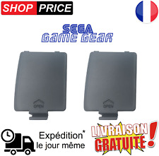 Lot 2 Caches Piles pour Console Sega Game Gear (NEUF)