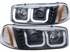 For 1999-2004 GMC Sierra 2500 Headlight Set Anzo 82563KS 2000 2001 2002 2003