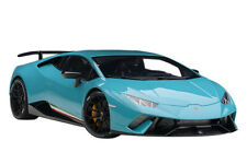 Box Dented LAMBORGHINI HURACAN PERFORMANTE SOLID BLUE 1/12 BY AUTOART 12077