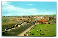 Postcard West Beach Promenade Saltcoats Ayrshire Scotland