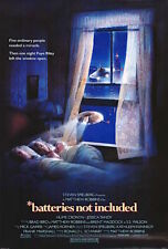 1987's BATTERIES NOT INCLUDED original rolled 27x41 O/S poster