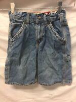 Levis Blue Carpenter Jean Shorts Kids Sz 6 Regular
