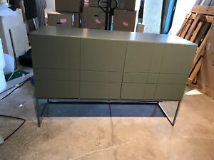 Asplund Kilt Light 137 Sideboard - Green Khaki