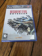 Resident Evil Outbreak PS2 neuf version fr