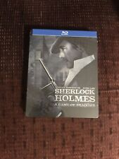 Sherlock Holmes A Game Of Shadows Blu Ray Steelbook - Brand New - Sealed!