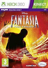 DISNEY FANTASIA MUSIC EVOLVED XBOX 360 KINECT BRAND NEW AND SEALED