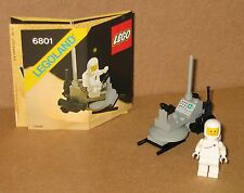 6801 LEGO Space Moon Buggy – 100% Complete w Instructions EX COND 1981