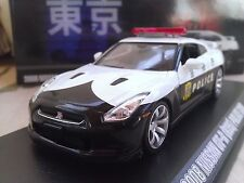 2008 Nissan GT-R R35 Japanese Police Car Diecast Model Car 1/43 Greenlight