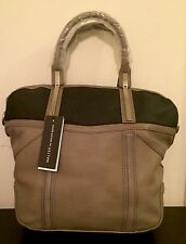 New WALTER BY WALTER BAKER Leather Hinge Domed Tote Bag