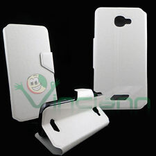 Case FLIP FLAP cover STAND White for NGM Forward Escape panel
