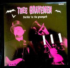 """Thee Gravemen - Rockin' in the graveyard 7"""" single NEW!"""