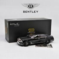 Almost Real AR 1:18 Diecast Car Model 2019 Bentley Mulsanne W.O. Limited Edition