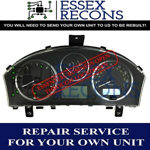LAND ROVER DISCOVERY 3 DASH INSTRUMENT CLUSTER SPEEDO CLOCKS REPAIR SERVICE