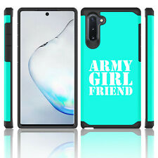 For Samsung Galaxy Note 10 + Shockproof Hard Case Cover Army Girlfriend