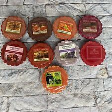 Yankee Candle Tarts Wax Melts Fall Autumn Winter Scents Candy Corn Apple Lot