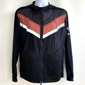 Nike Jacket Mens Sz Medium Windrunner Wild Run Athletic Running Black CU5738-010