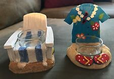 Set of 2 Yankee Candle Summer candle burners