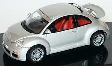 Autoart 59721 VW Beetle RSI Silver 1/43 Scale Die-cast Model Car