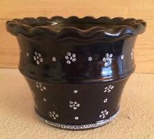Gmundner Keramik Dirndl blau Blumentopf Barock Landhaus (1606DE1#)