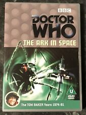 DOCTOR WHO THE ARK IN SPACE BBC DVD (TOM BAKER) AS GOOD AS NEW MINT FREE POST