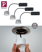Paulmann LED-Modul Coin für Einbauleuchten 3er Set Klar 3x7W Warmweiß UVP 74,85€