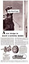1930 Vintage ad Bristol Steel Fishing Rods