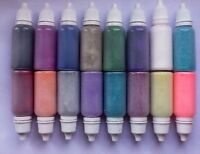 COSMETIC GLITTER squeeze puffer bottles 15ml TATTOOS/FACE PAINT/NAILS 40 cols